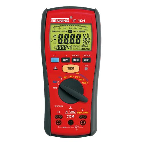 Đồng hồ đo điện trở điện tử Benning IT101